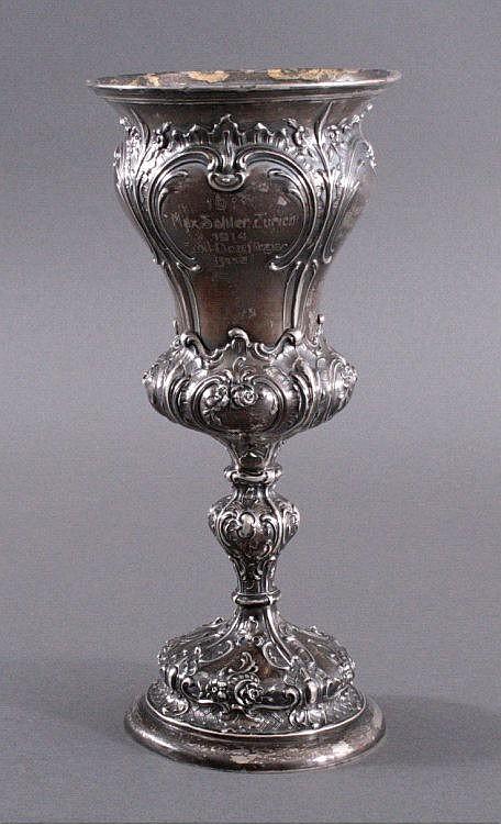 Pokal, Silber um 1900