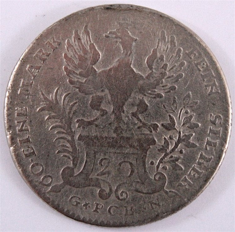 20 Kreuzer Frankfurt 1770