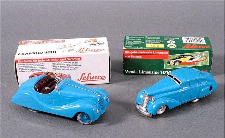 2 Modellautos der Marke Schuco, Repliken