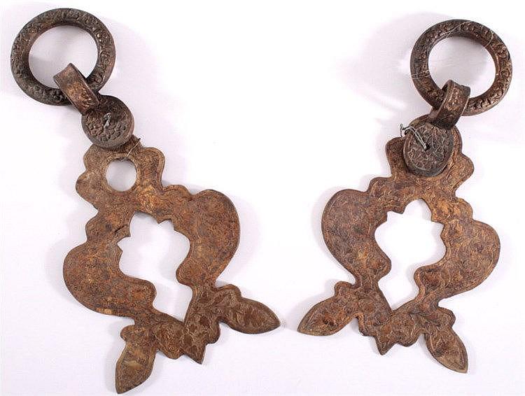 Türbeschläge aus Bronze, Orient