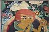 Thangka, Tibetisch Chinesisch um 1900