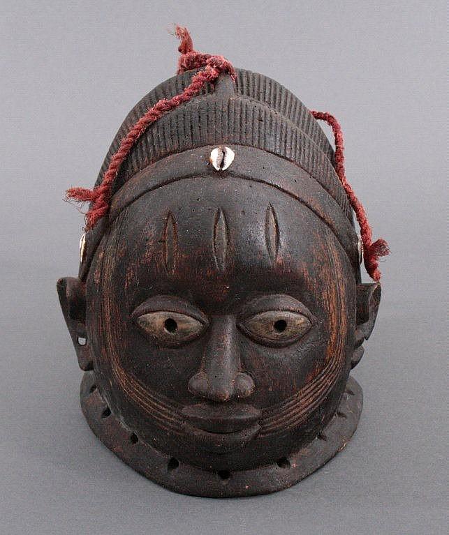Maske des Gelede Bundes, Yoruba, Nigeria