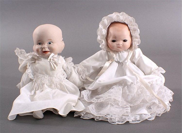 3-Gesichter Puppe lachen, weinen, schlafen