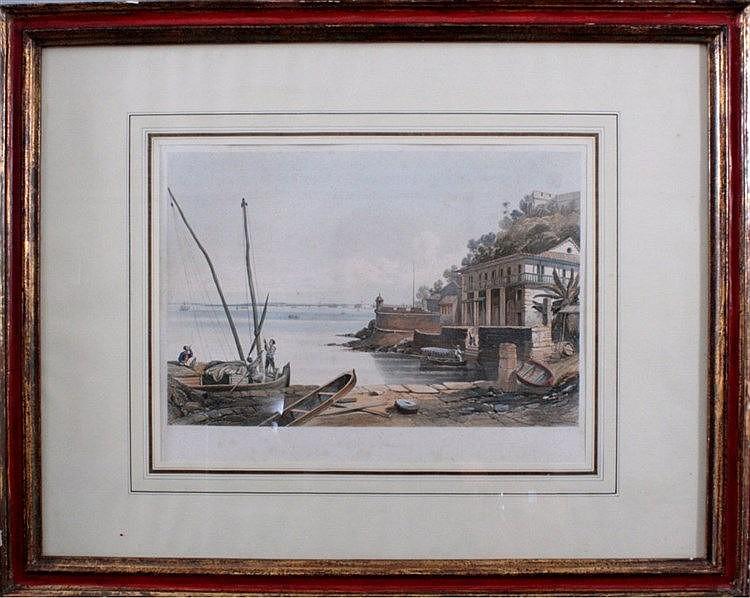 Kupferstich von William Gore Ouseley 1797- 1866 und
