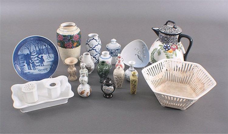 Porzellan/Keramik Konvolut, 19-Teile