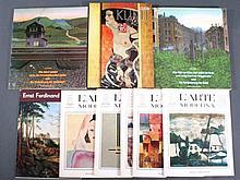 Konvolut Kunstbände
