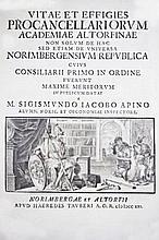 Lives of lawyers, philologists] APIN. Vitae et effigies