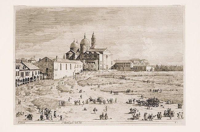 [Padova] CANAL Antonio. 2 engravings