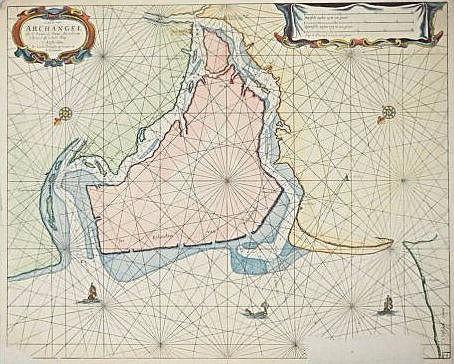 [Rivier de Dvina] Nautic Map