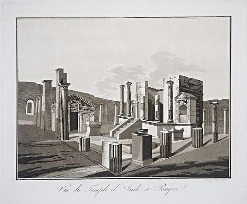 [Pompeii] 4 archeological views