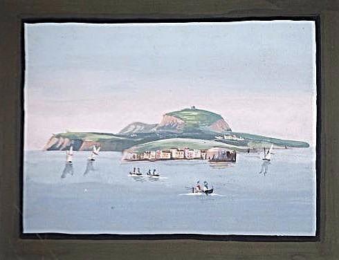 [Capri Island] 3 guache