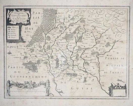 [La Capelle] Map