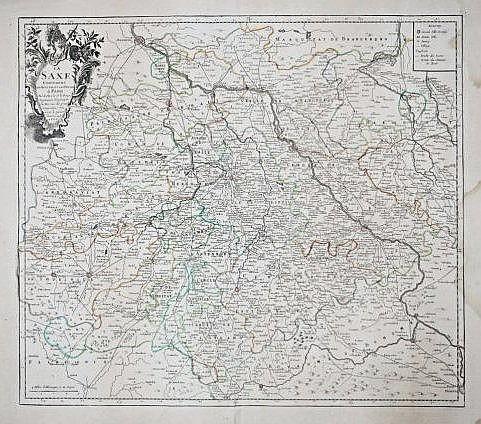 [La Saxe] Map