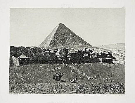 [Egypt] 5 views and monuments engravings