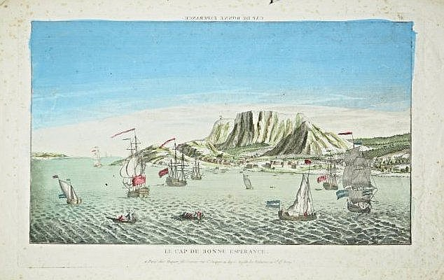[South Africa]Optic View of Cape of Good Hope