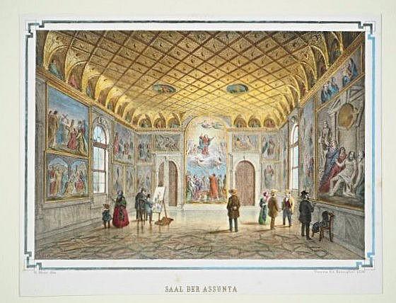 [Venice] 6 lithographs depicting monuments