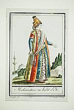 [Arabian Costumes] 4 engravings