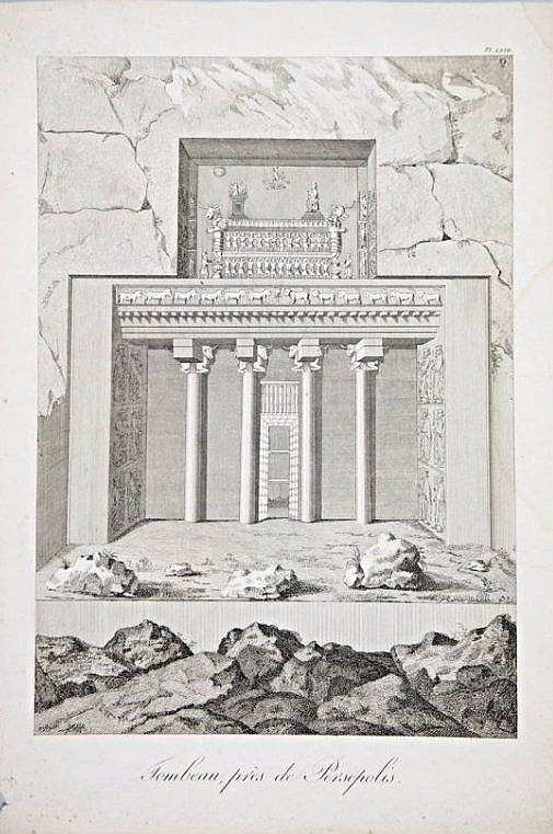[Persia] 5 Views of Persia, XVIII century