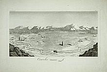 [Asia Minor] 3 Views of Persia, XVIII century