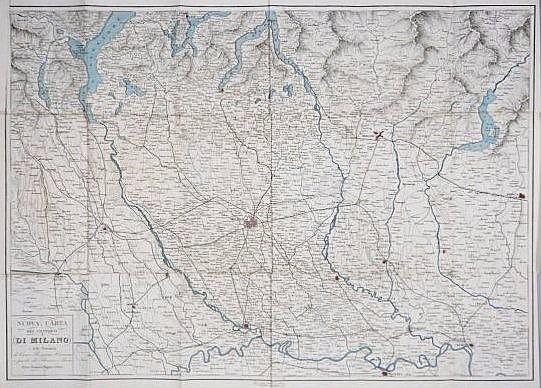 [Italy] Milan Map