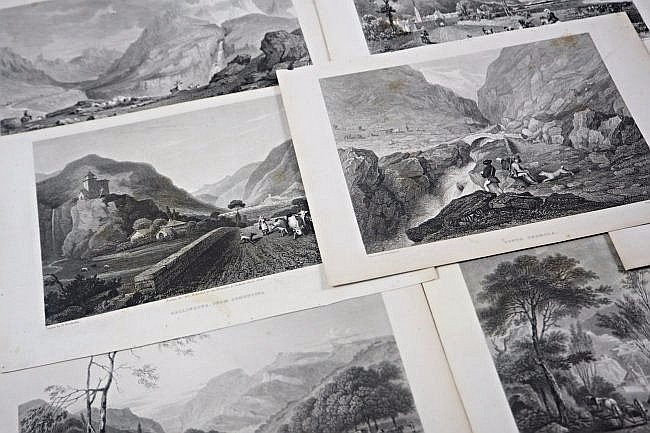 [Alpes] 7 Engravings