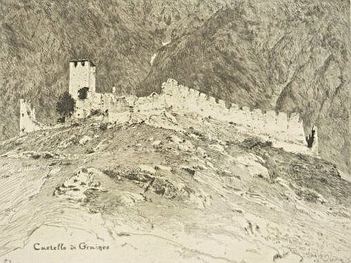[Italy - Valle d'Aosta] 14 etchings