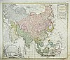 [Asia Maps] 2 engravings