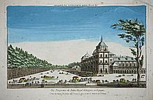 [Spain] 3 Optic Views of Monastere Royal