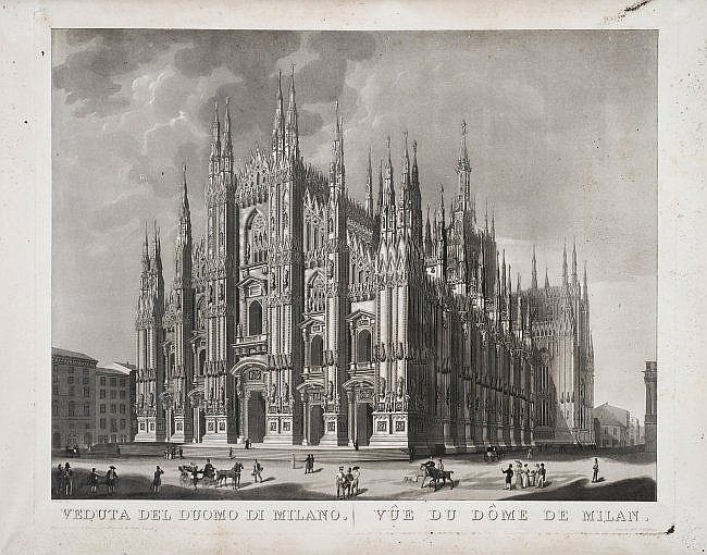 [Milan] View of the Duomo