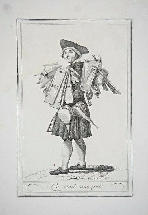[Tuscany Costumes] 2 engravings
