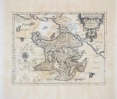Rugia Insula Map