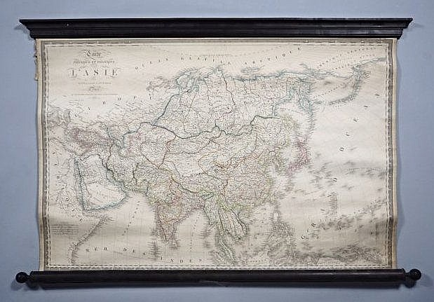 [Wall map] Asia