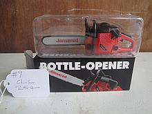 chain saw bottle opener