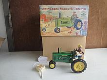 j.d. model b tractor