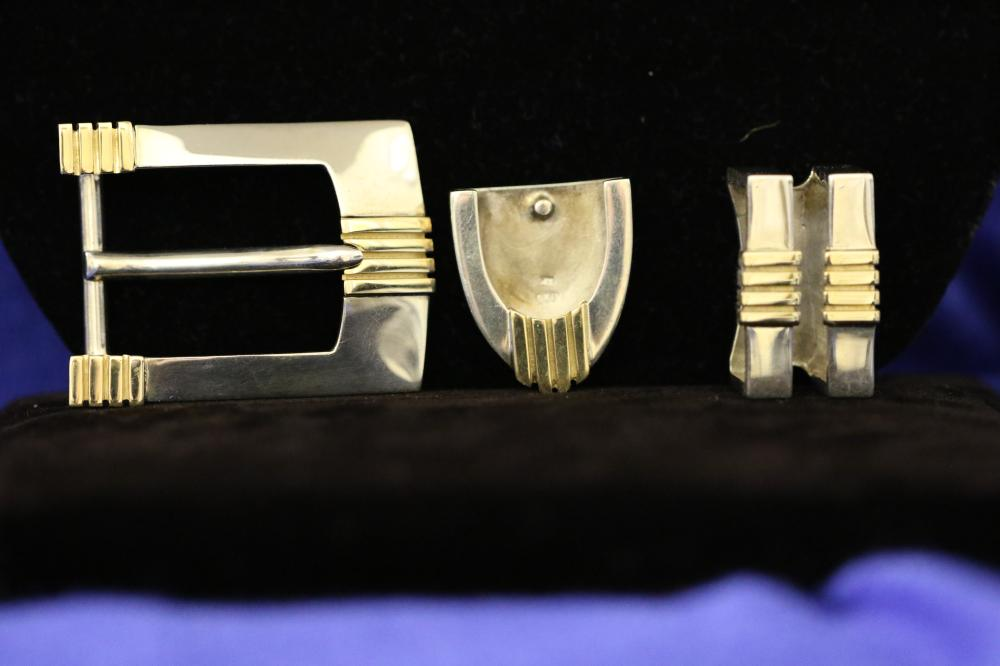 Belt Buckle and Parts