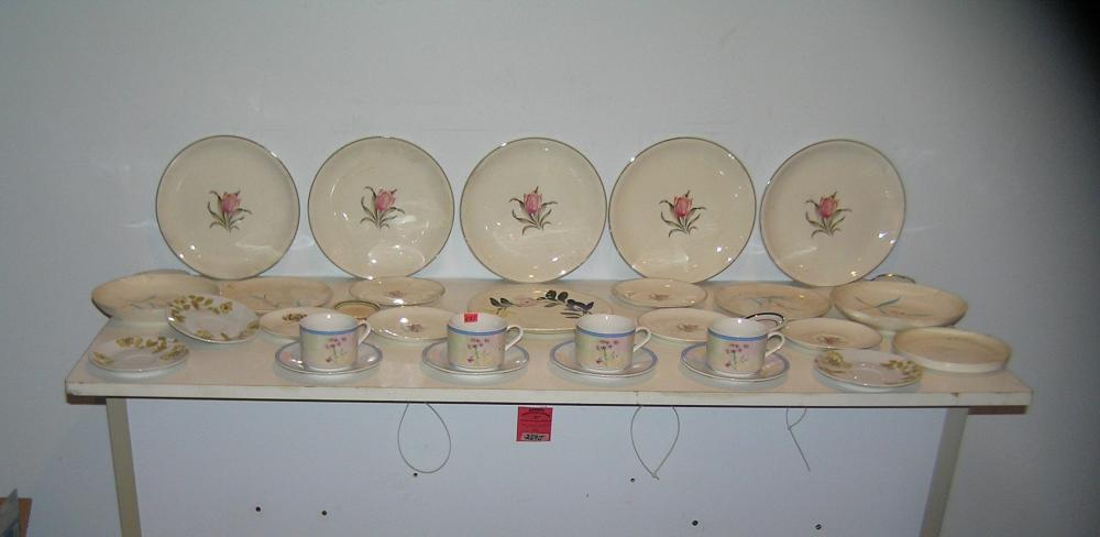 Large group of estate porcelain and China