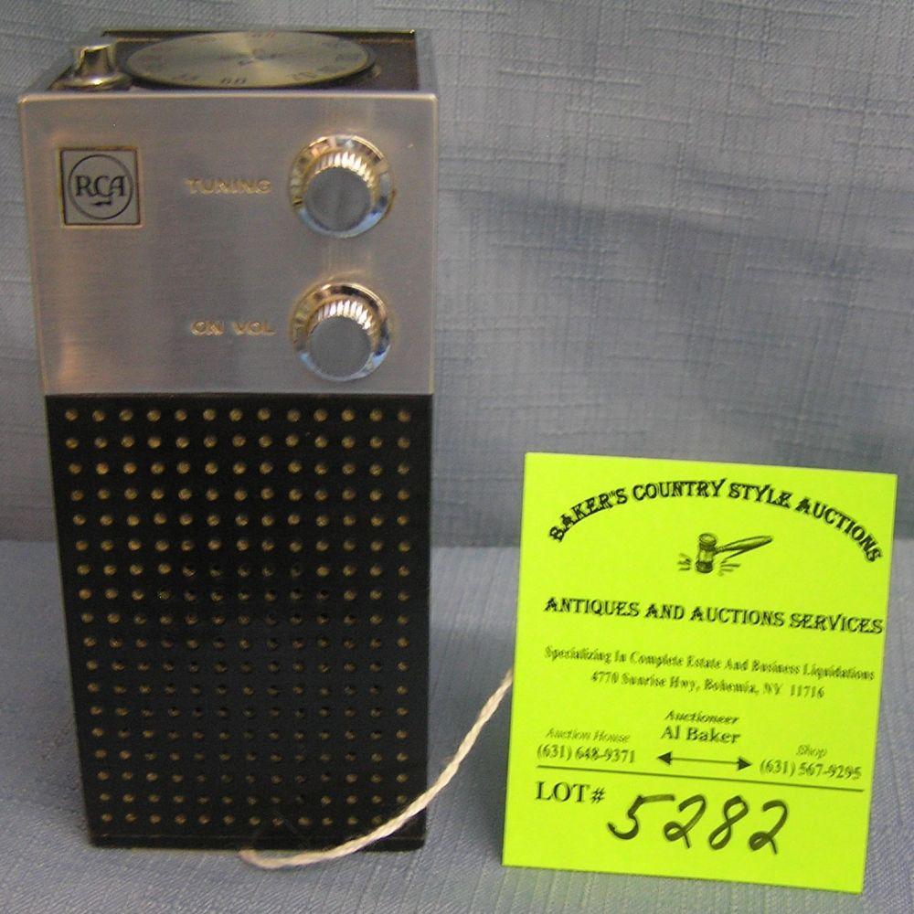 High quality RCA portable transistor radio