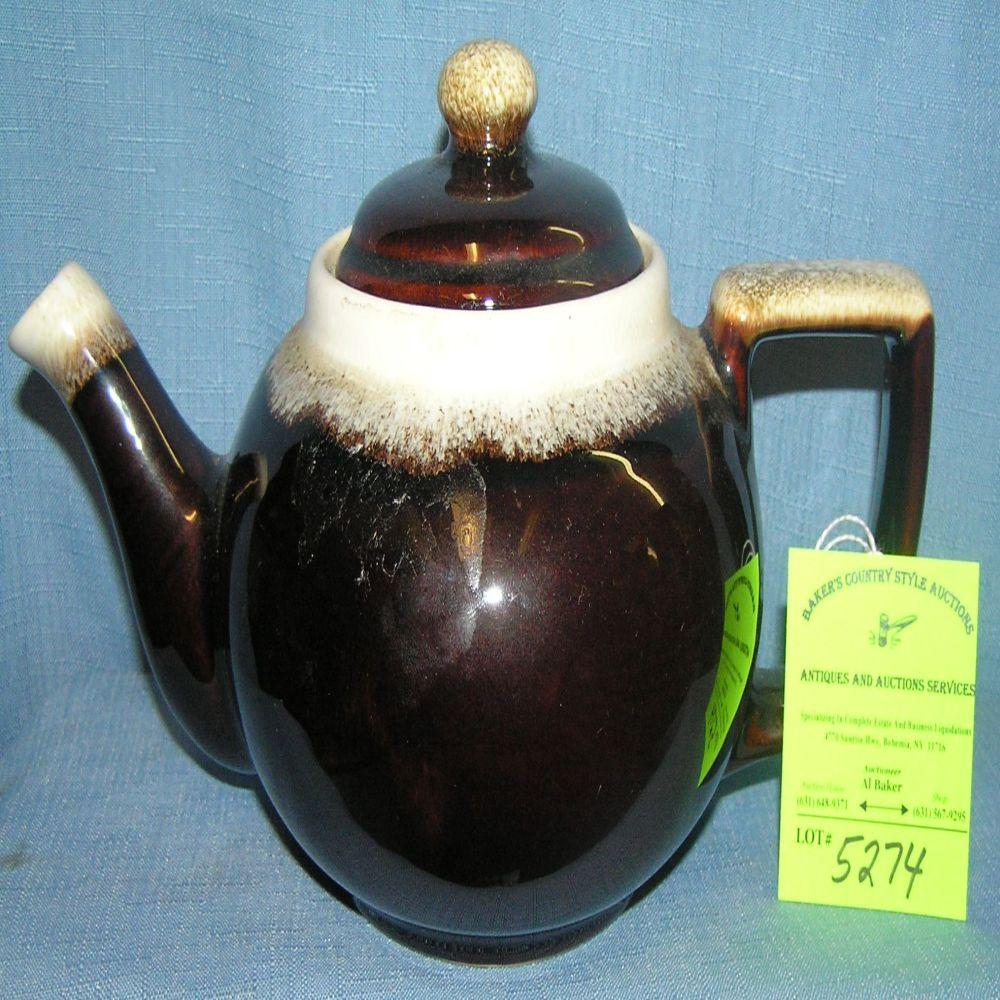 Early Pfalzgraf earthenware teapot
