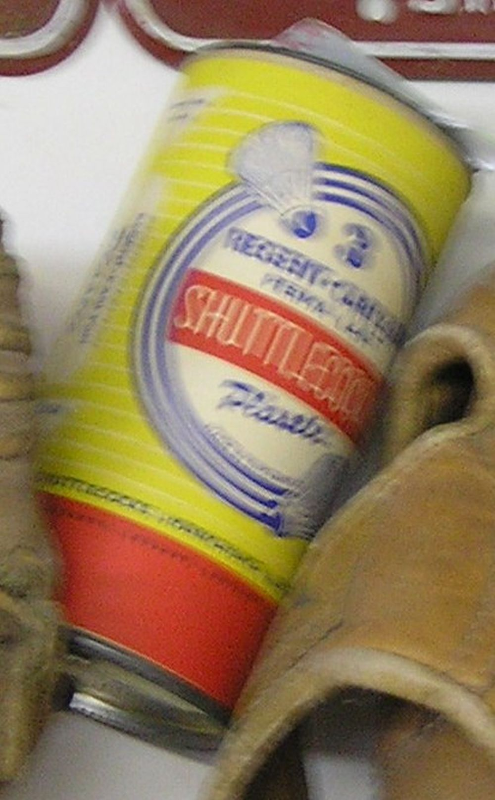 VINTAGE SHUTTLECOCK CONTAINER BY REGENT