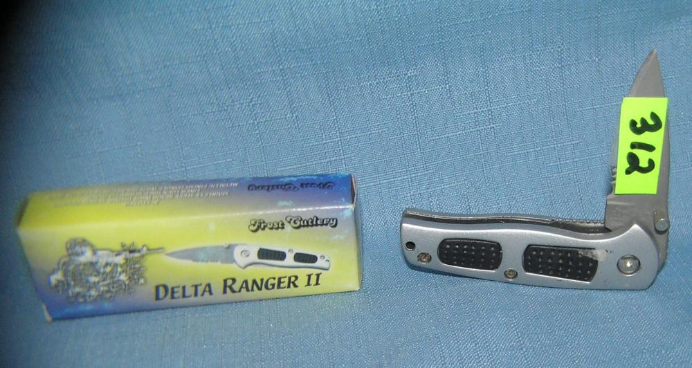 DELTA RANGER 2 POCKET KNIFE WITH ORIGINAL BOX