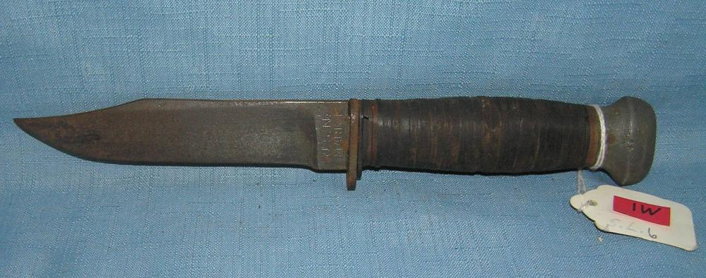 WWII US NAVY MARK 1 FIGHTING KNIFE