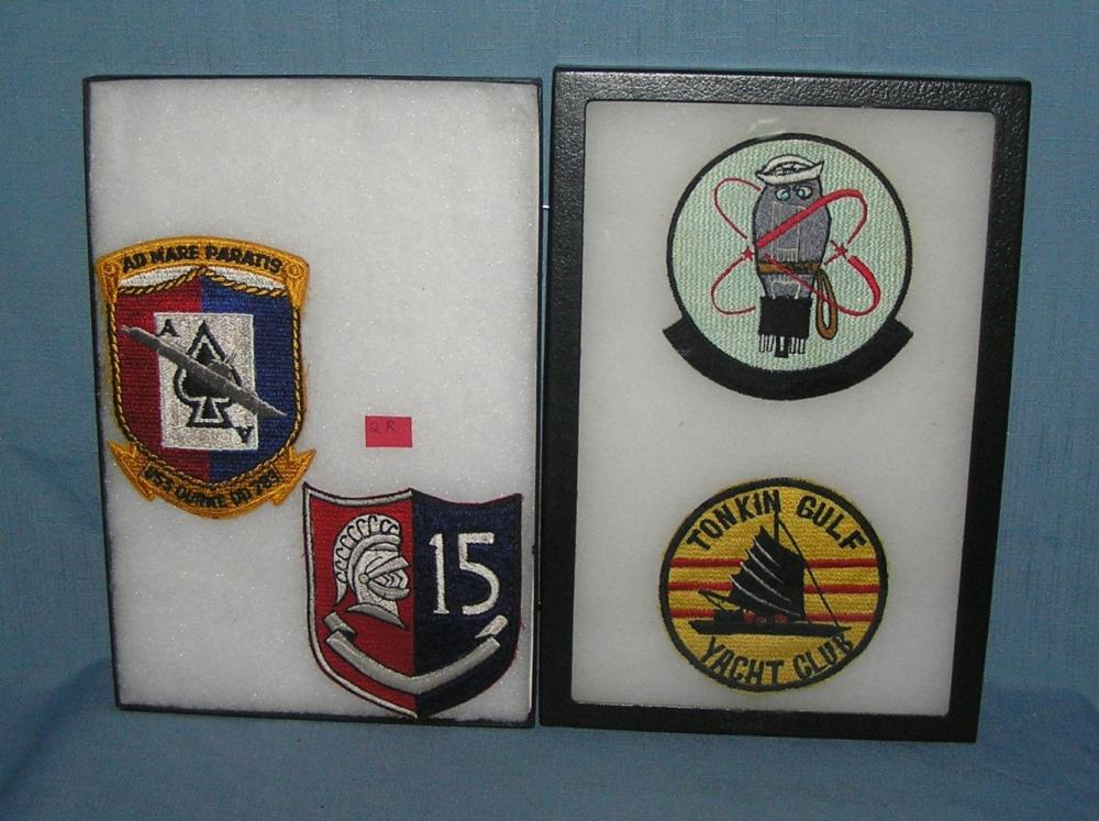GROUP OF 4 VIETNAM VETERANS EMBROIDERED PATCHES