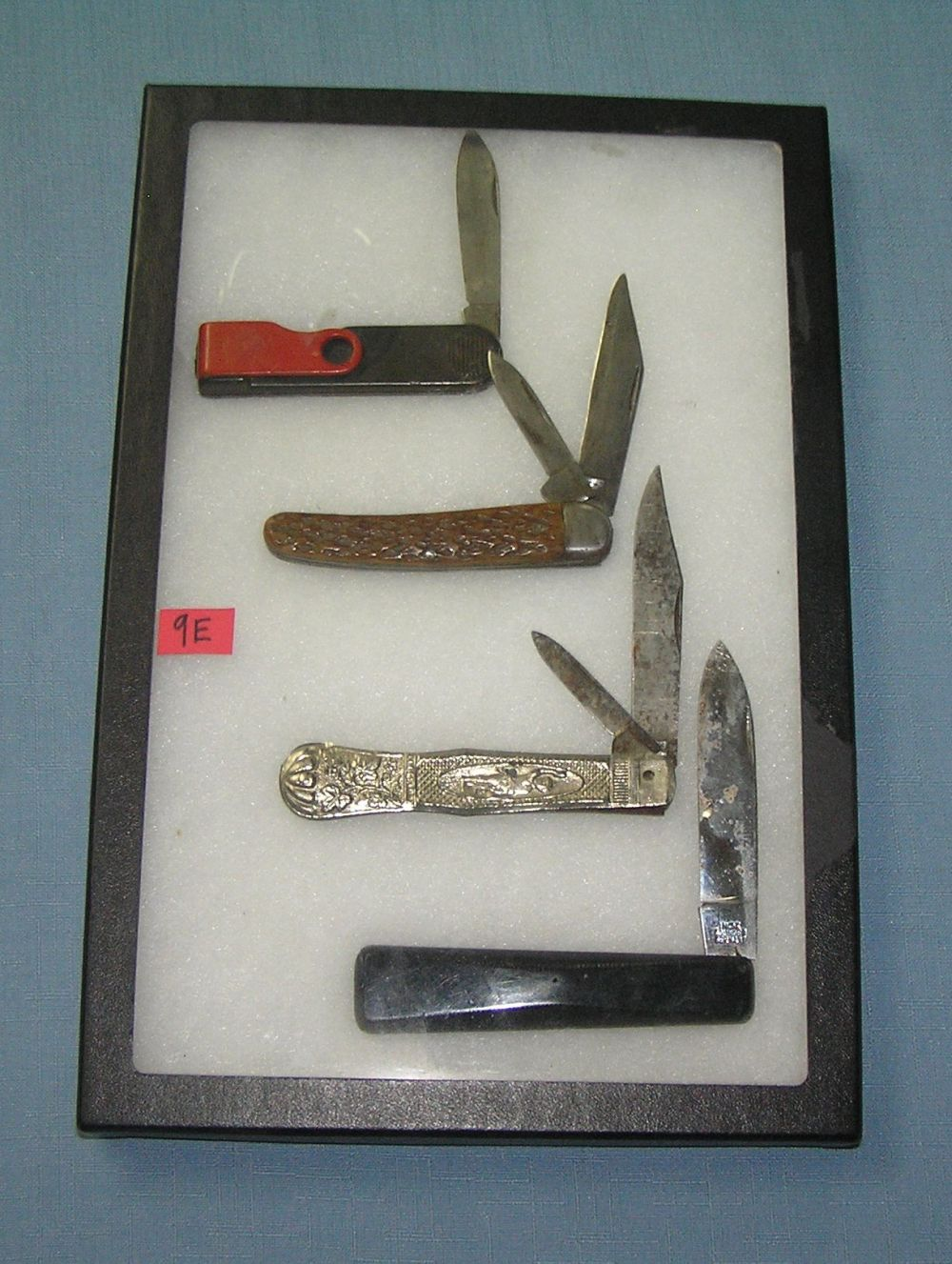 COLLECTION OF GERMAN MADE POCKET KNIVES