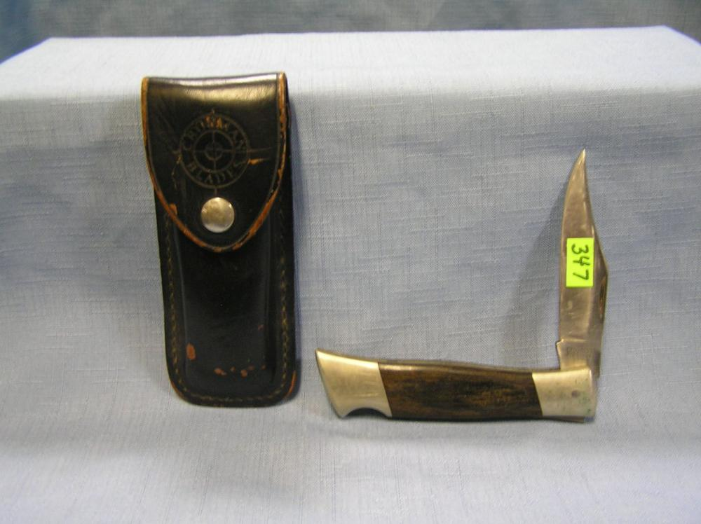 EARLY CROSSMAN POCKET KNIFE