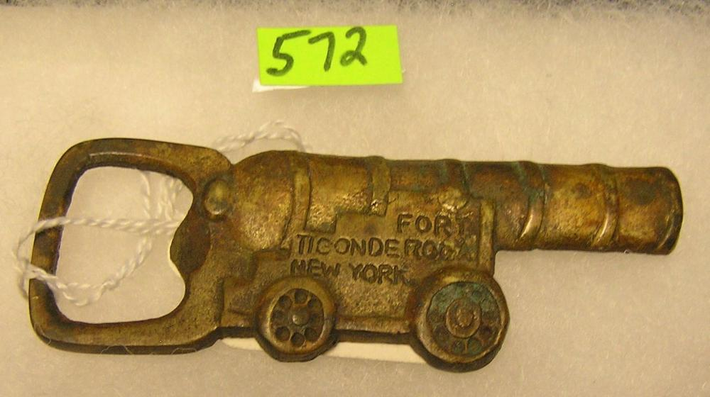 FORT TICONDEROGA SOUVENIR BOTTLE OPENER