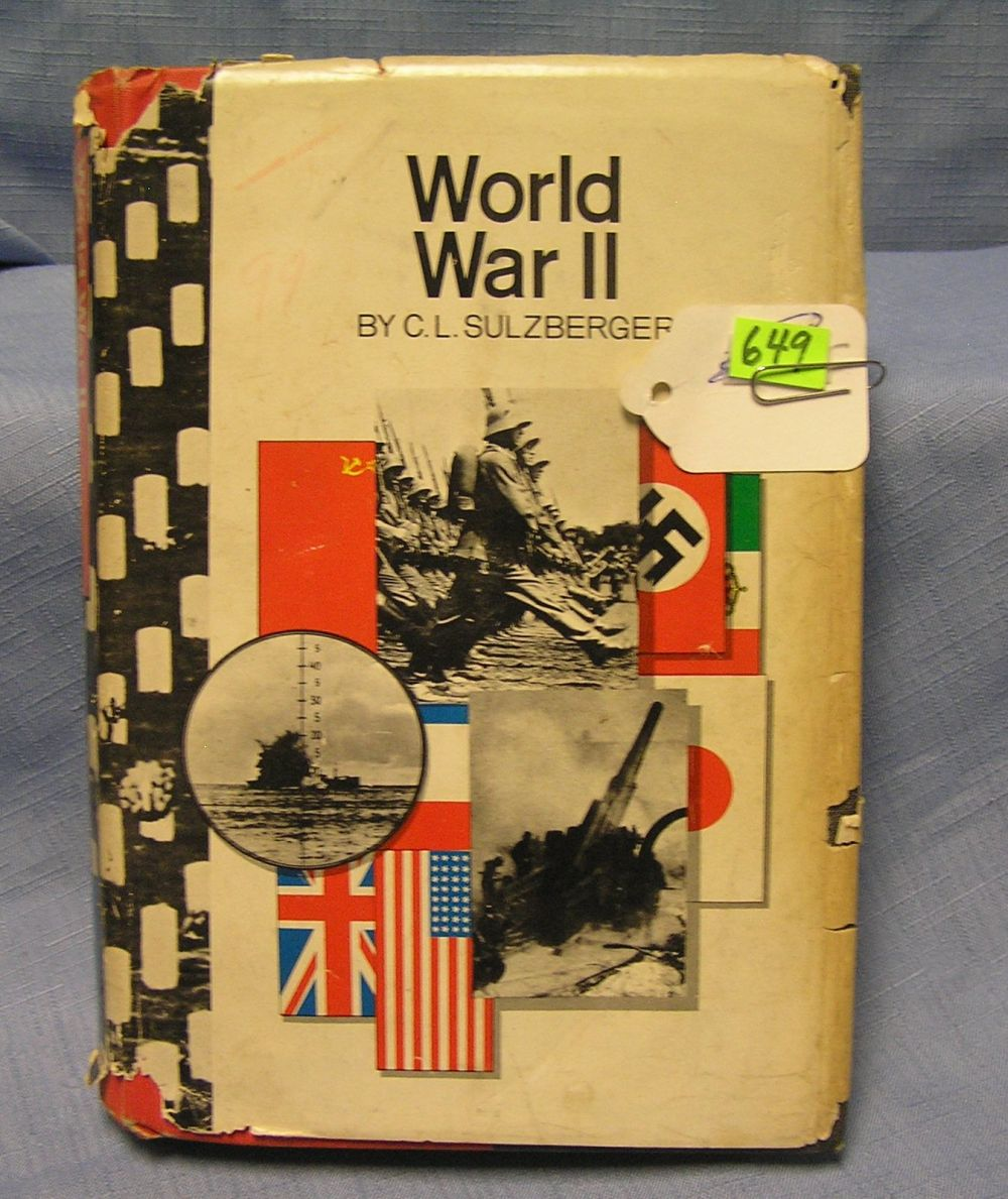 WWII BY C.L. SULZBERGER