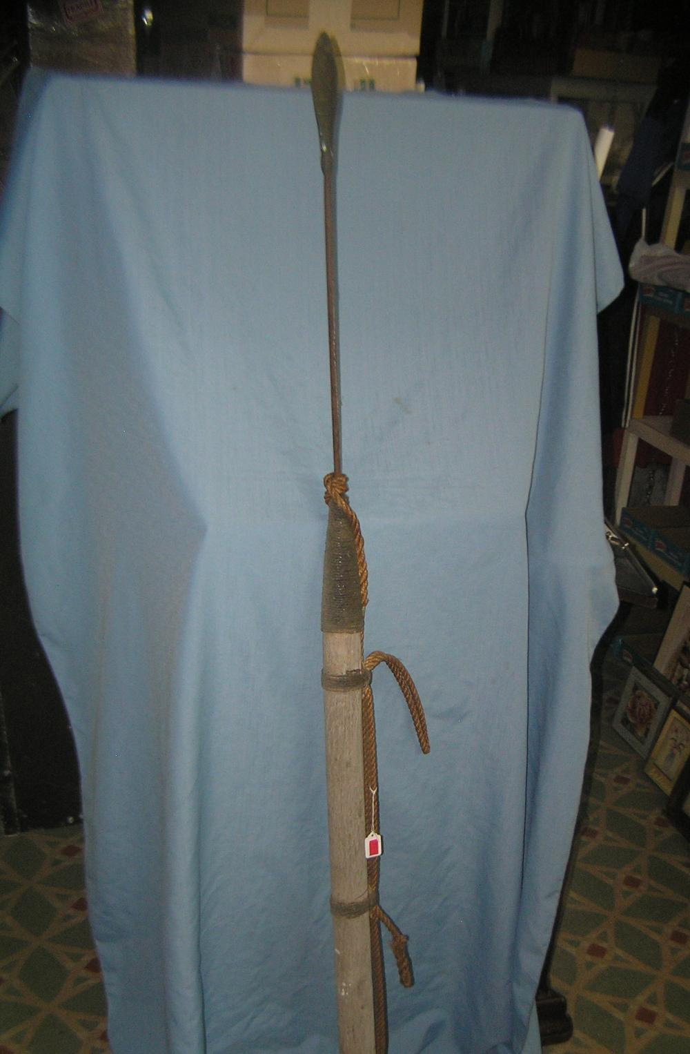 Whale spear movie prop