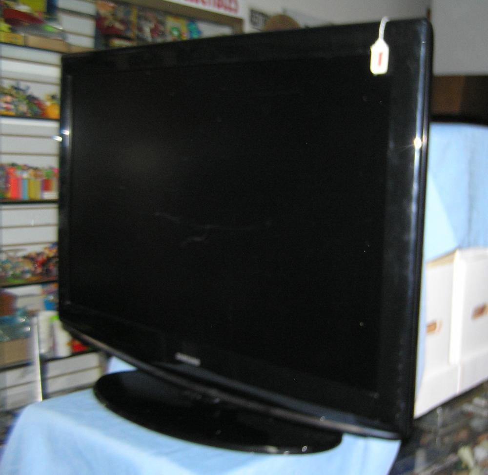 Large Samsung flat screen TV
