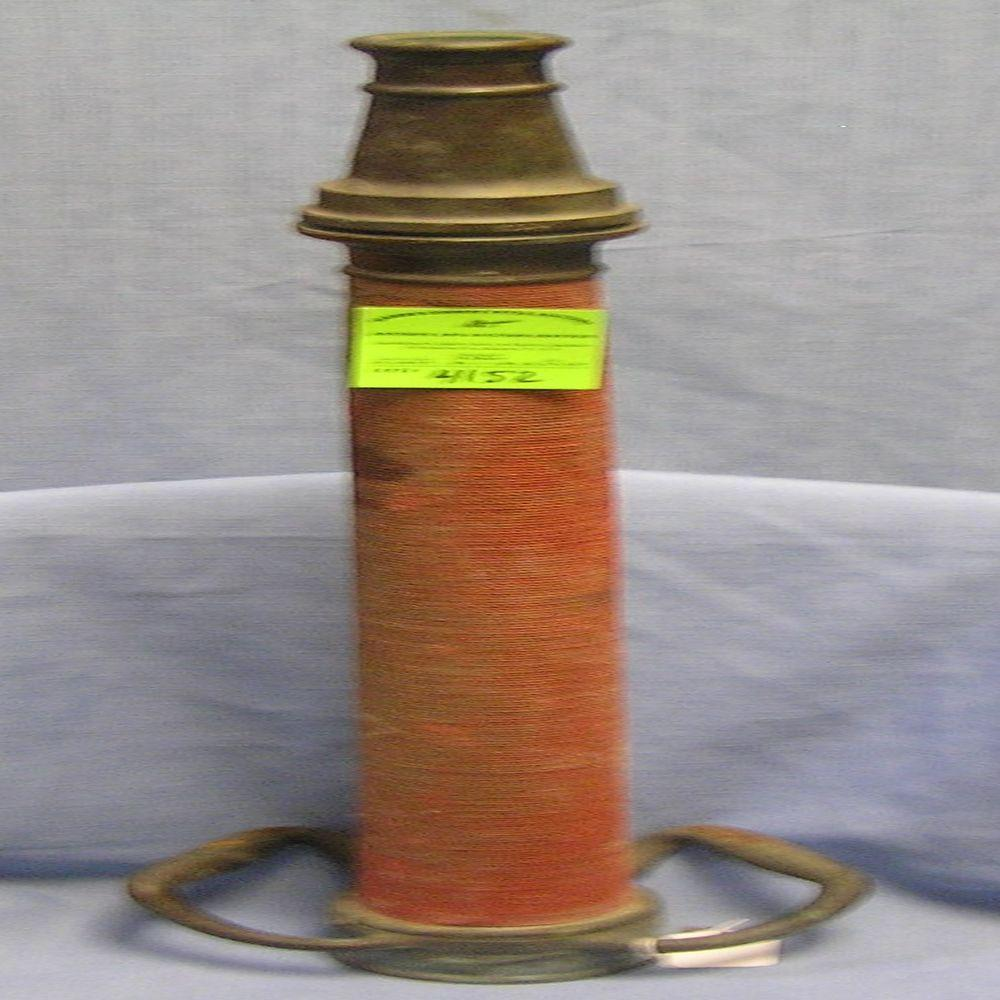 LARGE ANTIQUE SOLID BRASS FIRE NOZZLE