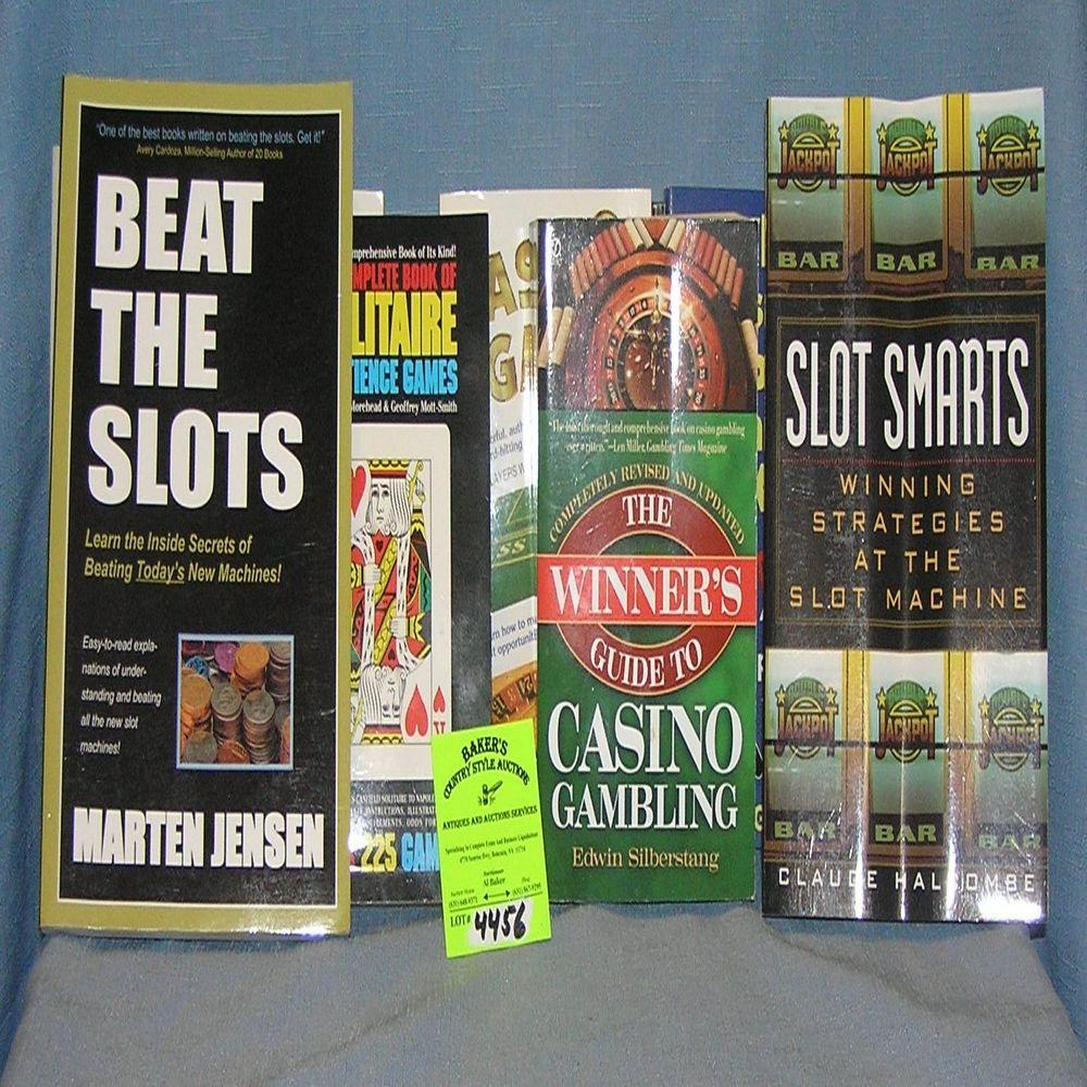 LARGE GROUP OF CASINO AND GAMBLING BOOKS